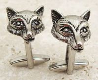 fox_head_cufflinks